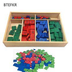 Montessori Cap Permainan Pelatihan Anak Math Mainan untuk Anak Usia Dini Pendidikan Prasekolah Mainan Bayi anak Hadiah Brinquedos
