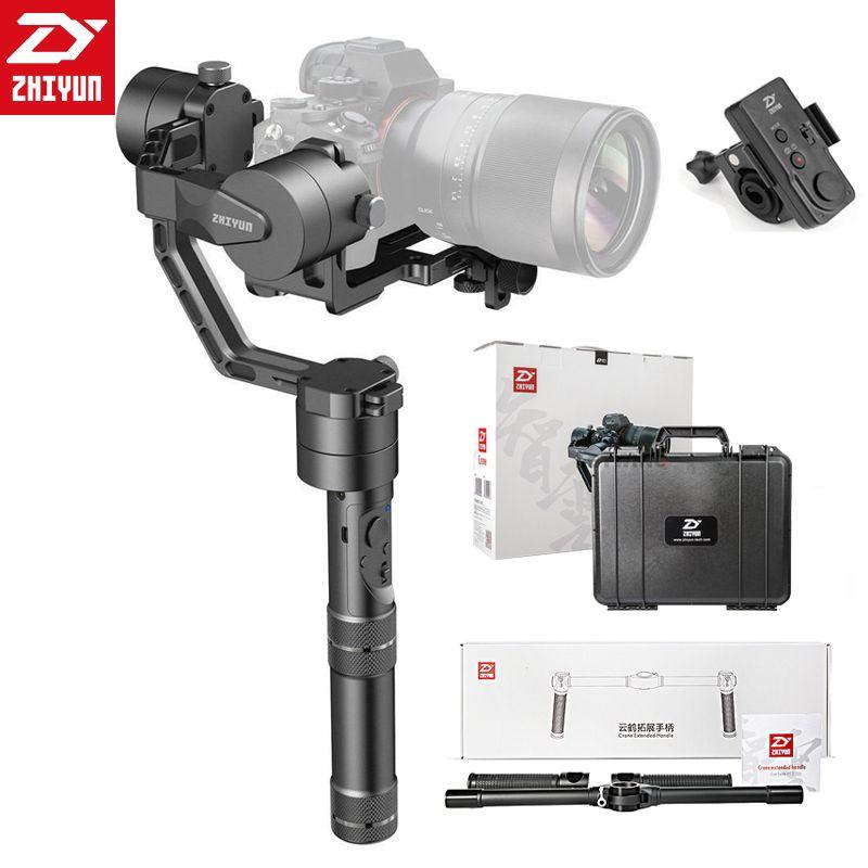 Zhiyun Kran/Kran V2 3-achsen Stabilisator Hand Gimbal Für DSLR Canon Kamera Unterstützung 1,2 KG VS Betrachters DS1 MS1 4000 lite