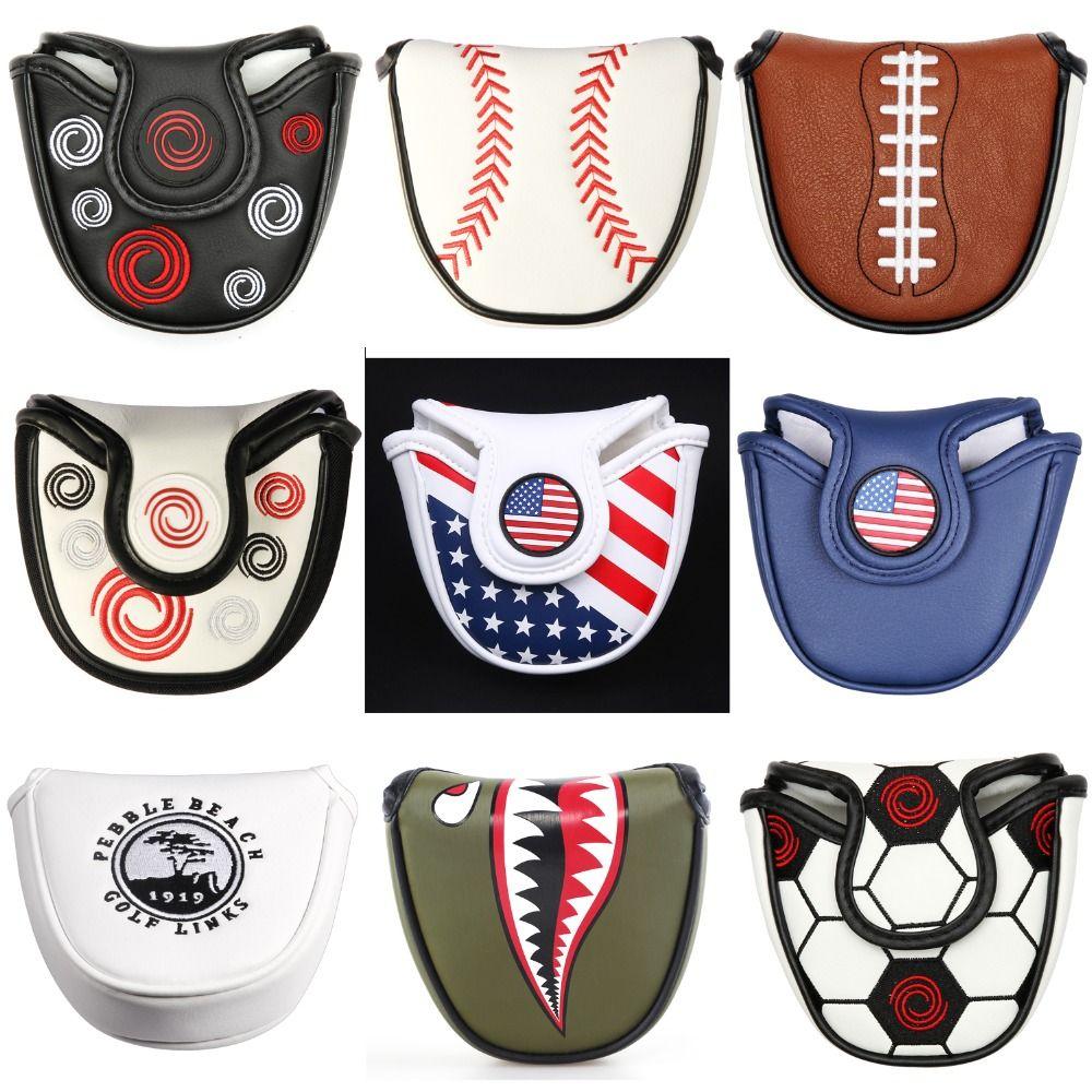Fermeture magnétique personnalisé Golf maillet Putter couvre couvre-chef en cuir synthétique Multi Style couleur livraison gratuite