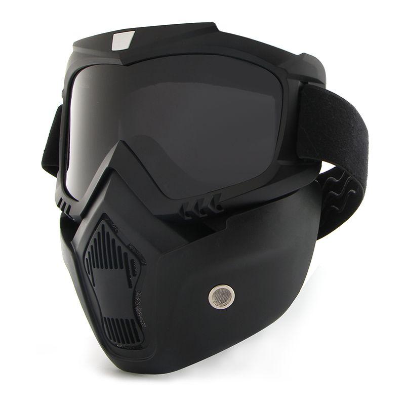 Outdoor-sportarten Anti verschmutzung Radfahren Masken ski fahren Sporttraining maske UV Schützen Volle Fahrrad gesichtsmaske Radfahren Maske