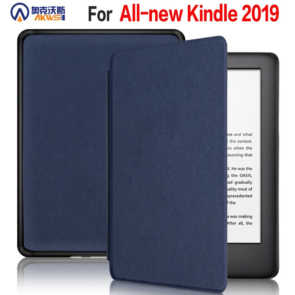 cover case for Amazon All new kindle 10th 6inch 2019 with Built-in front light ereader new kindle touch 10th Gen 2019 +gifts