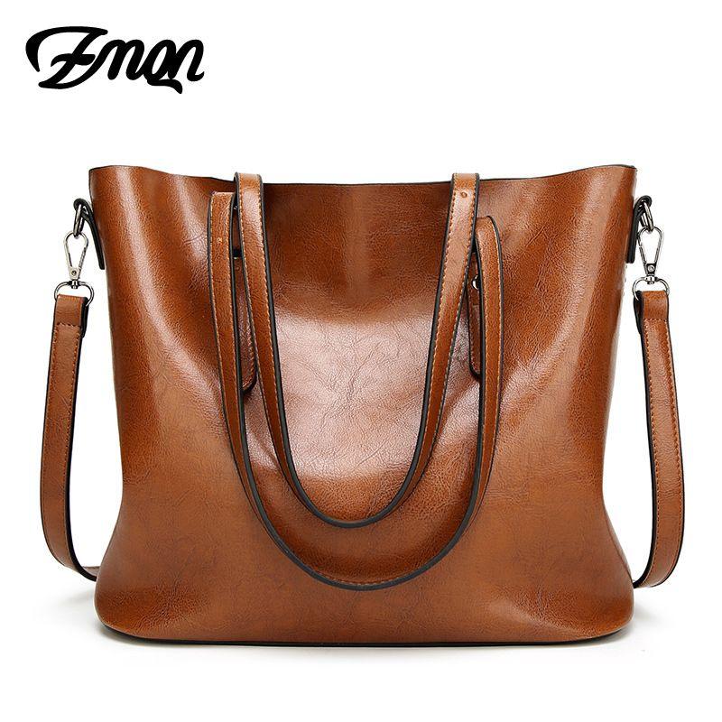 Zmqn Для женщин сумка для Для женщин большой Сумки известная марка масла Воск кожа ретро Винтаж Стиль Crossbody Для женщин-сумка outlet 2017 c814
