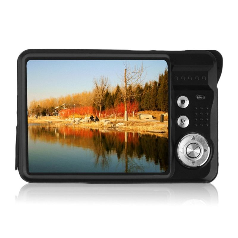 Camera2.7 inch TFT LCD HD 720P 18MP K09 Digital Camera Camcorder CMOS Sensor 8x Digital Zoom Anti-shake Anti-red eye Digital Cam