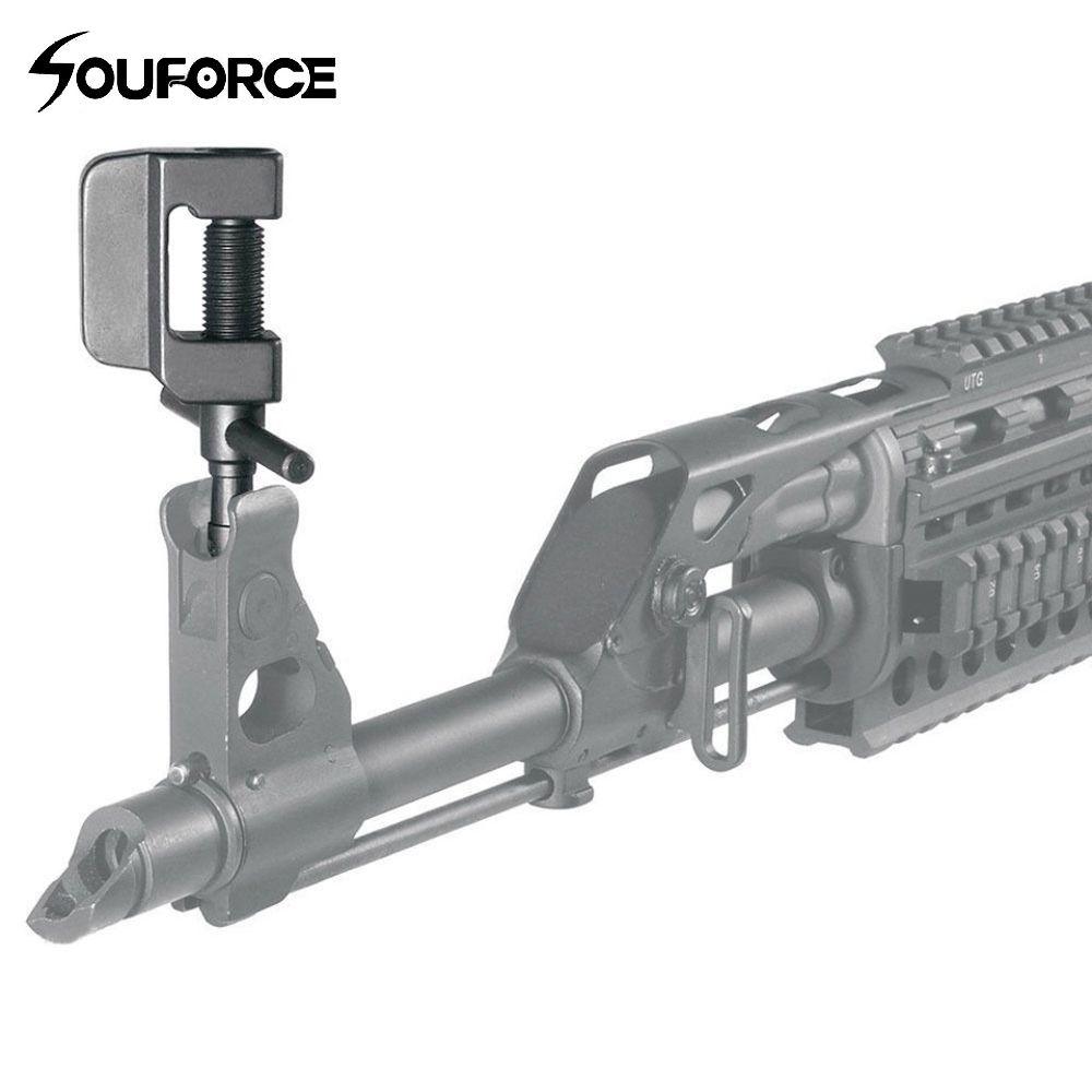 Taktische Front Sight Werkzeug Für Die Meisten SKS AK MAK SLR95 Seiten-/Höhe Stahl Heavy Duty