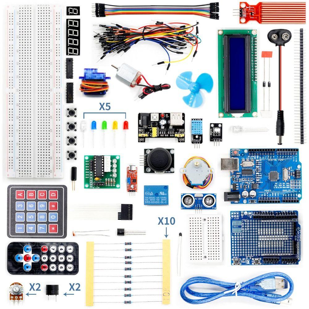Super Kit de démarrage pour Arduino UNO R3