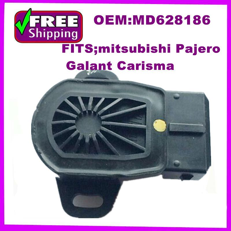 high qualty TPS SENSOR  oem MD628186 MD628227  Throttle Position Sensor FOR  Mitsubishi Pajero Galant Carisma