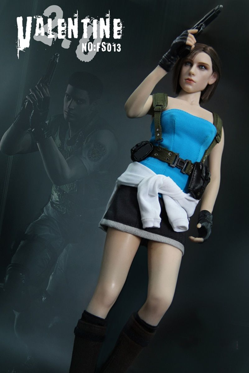 1/6 Resident Evil Jill valentine Game Version Whole Box Action Figure Model Collections Gifts
