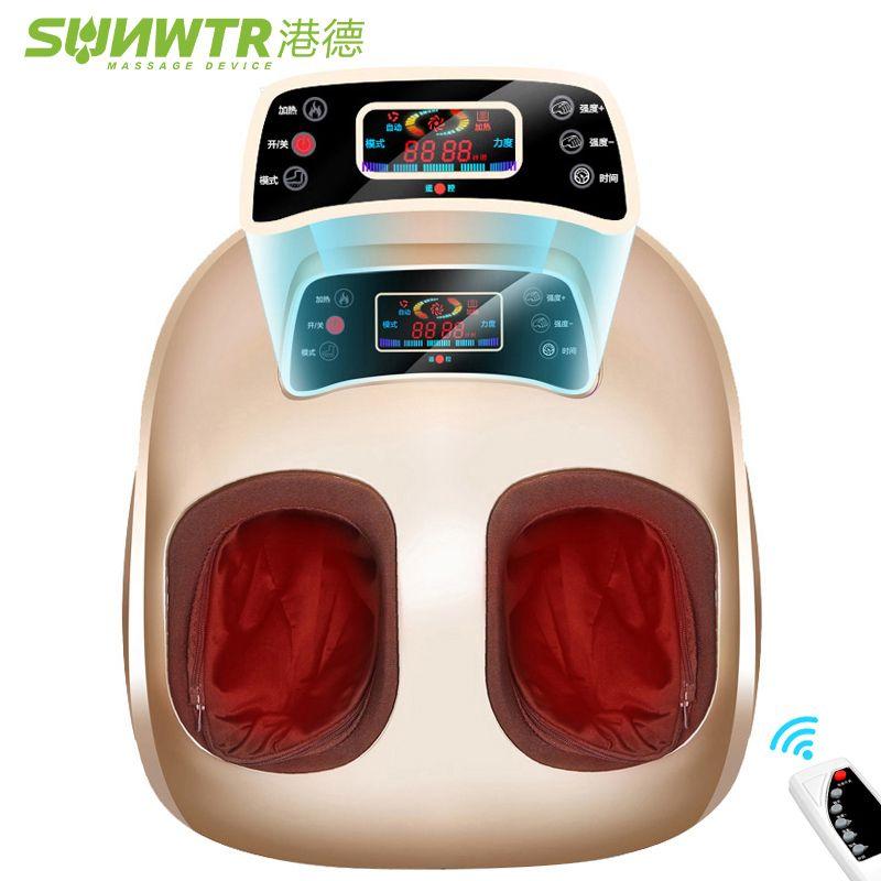 4D Shiatsu Électrique Massage des Pieds machine Dispositif Avec Air Compression Infrarouge Chauffage Automate Électrique Vibrateur pour les Soins de Santé