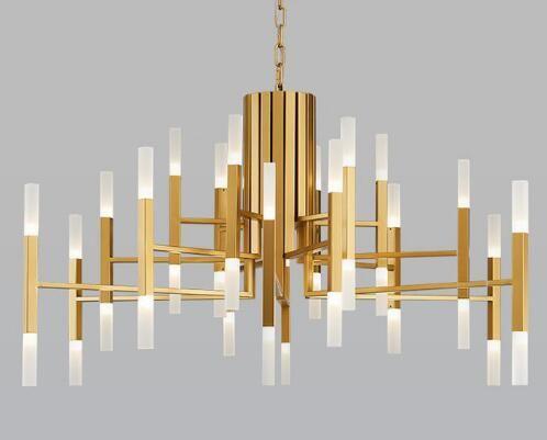 Modern Acrylic Led Pendant Light Nordic Living Room Kitchen Designer Hanging Lamps Avize Suspension Luminaire