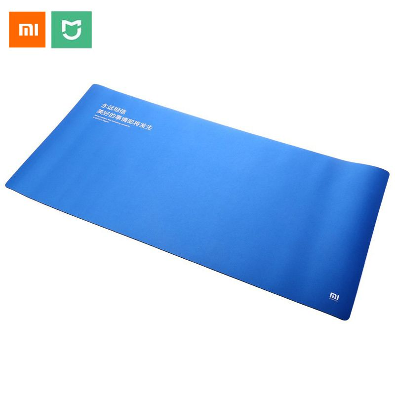 Free shiping 100% Original XiaoMi Huge Extra XL Large Size Pad Compatible With Keyboard For Optical Trackball Laser PAD