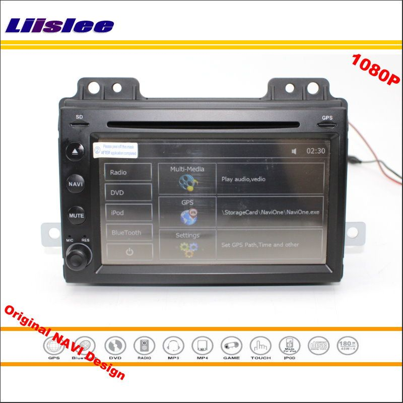 Liislee For Land For Rover Freelander 2004~2007 Stereo Radio DVD Player GPS Map Navigation HD Screen System Original NAVI Design
