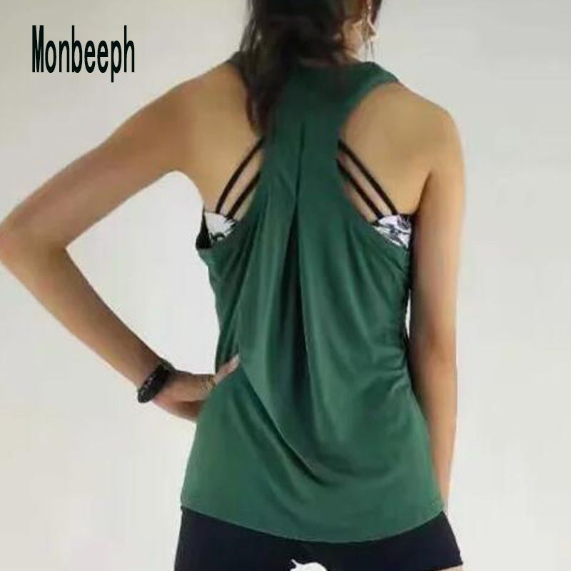 2019 Monbeeph Sexy Women Vest tank Clothes stretch Stitching Tank Tops shirts black red green color
