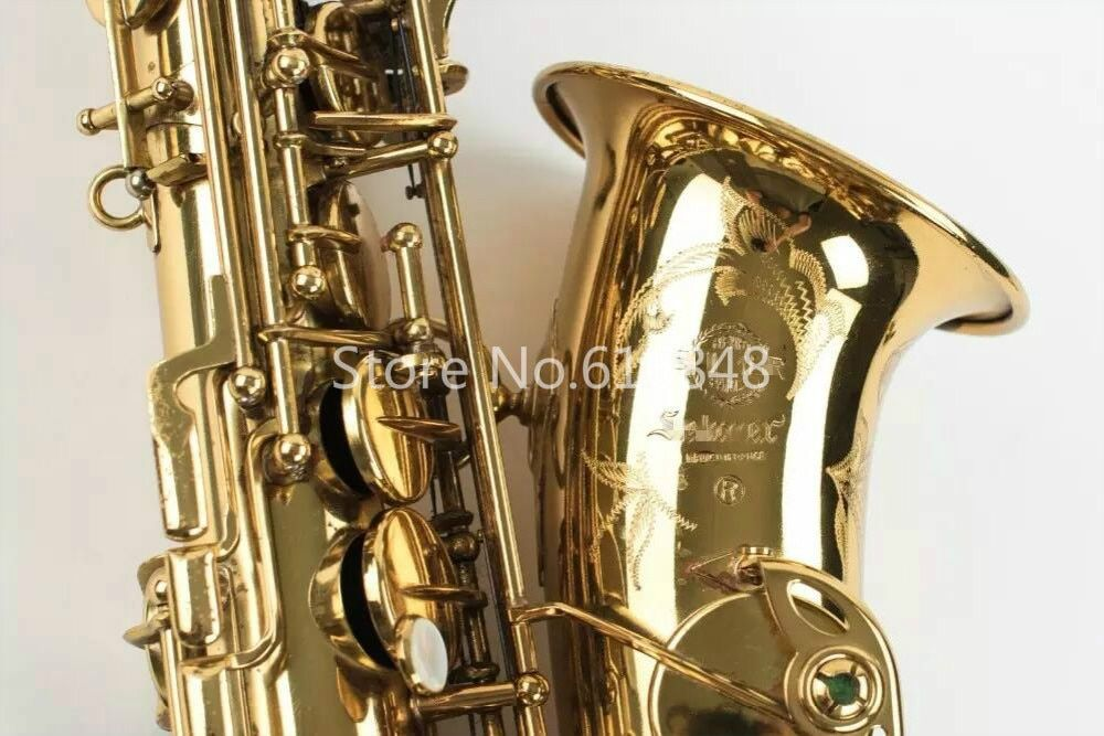 Classic Selma Mark VI Alto Saxophone Eb Tune Musical Instrument Gold Plated Brass Sax With Nylon Case Accessories Free Shipping