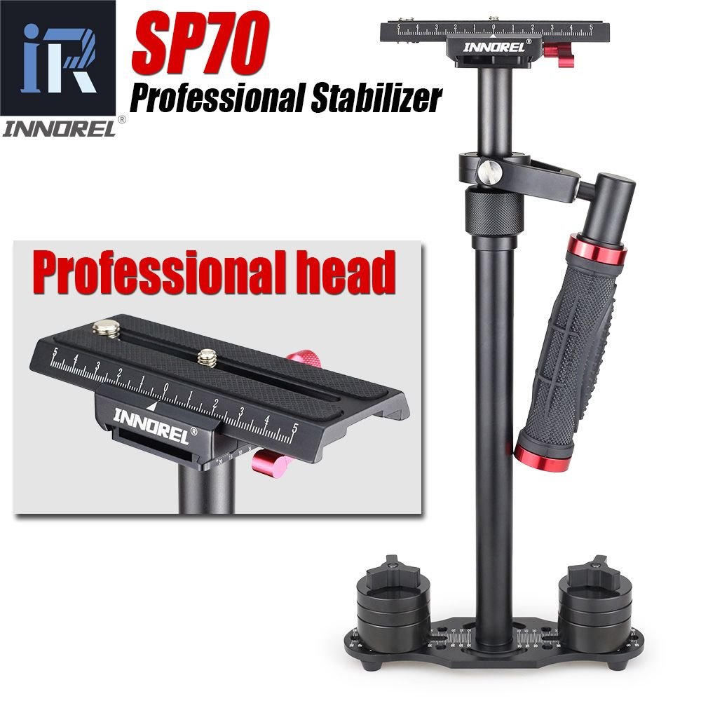 SP70 handheld steadicam DSLR camera stabilizer video steadycam camcorder steady cam Glidecam filmmaking Better than S60 S60+