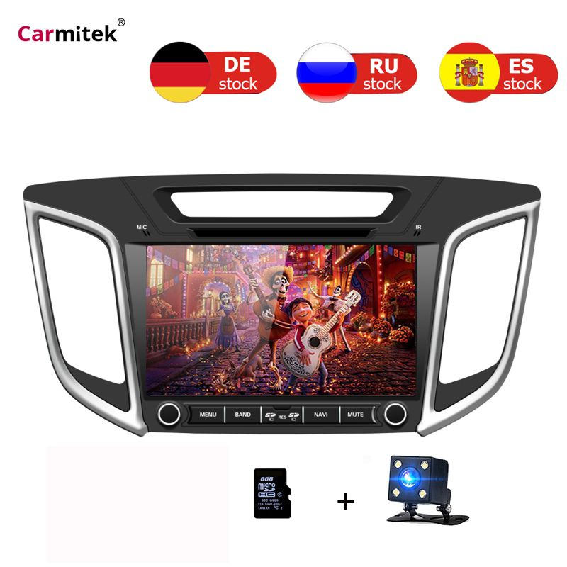 2 Din Autoradio DVD GPS Navigation-Player Für Hyundai Creta IX25 2014 2015 2016 2017 2018 touchscreen navy multimedia steuergerät
