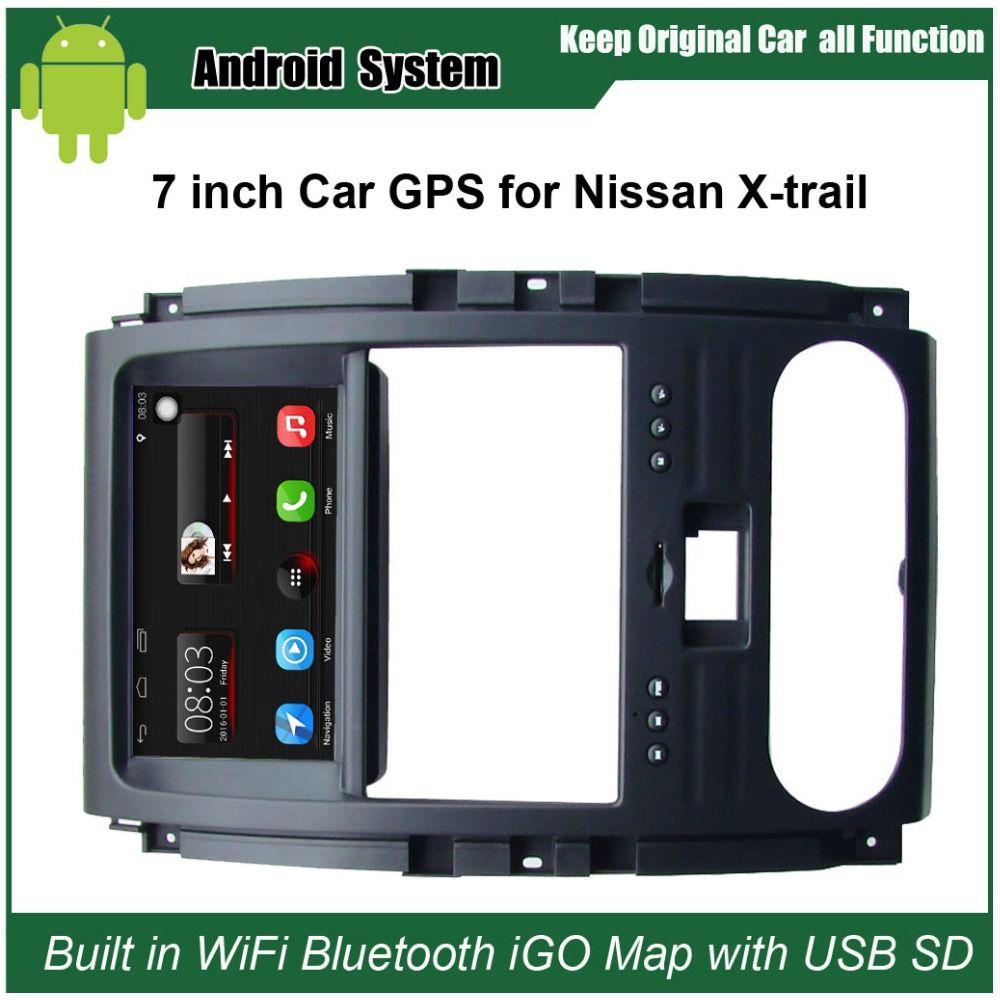Verbesserte Ursprüngliche Auto Radio Player Anzug Nissan x-trail Auto Video Player WiFi gebaut GPS Navigation Bluetooth