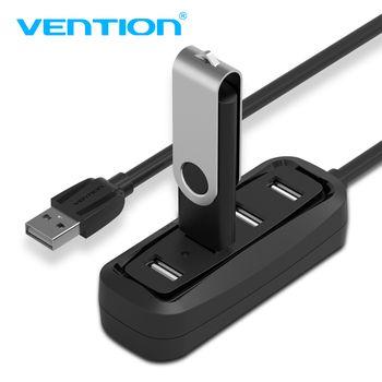 Convention Haute Vitesse 4 Ports USB 2.0 Hub USB Port USB HUB Portable OTG Hub USB Splitter pour Apple Macbook Air Ordinateur Portable PC Tablet