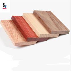 Sy herramientas carpintería DIY producir alimentos bandejas materias primas 200*110*20mm (1 unidades) TECA nogal haya