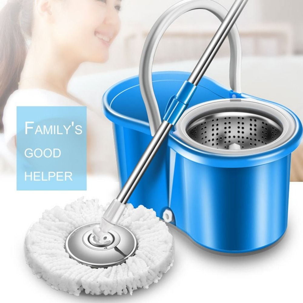 Practical 360 Rotating Cleaning Mop Head Replacable Magic Mop Floor Easy Spin Mop Accessories Household Cleaning Tool Mop