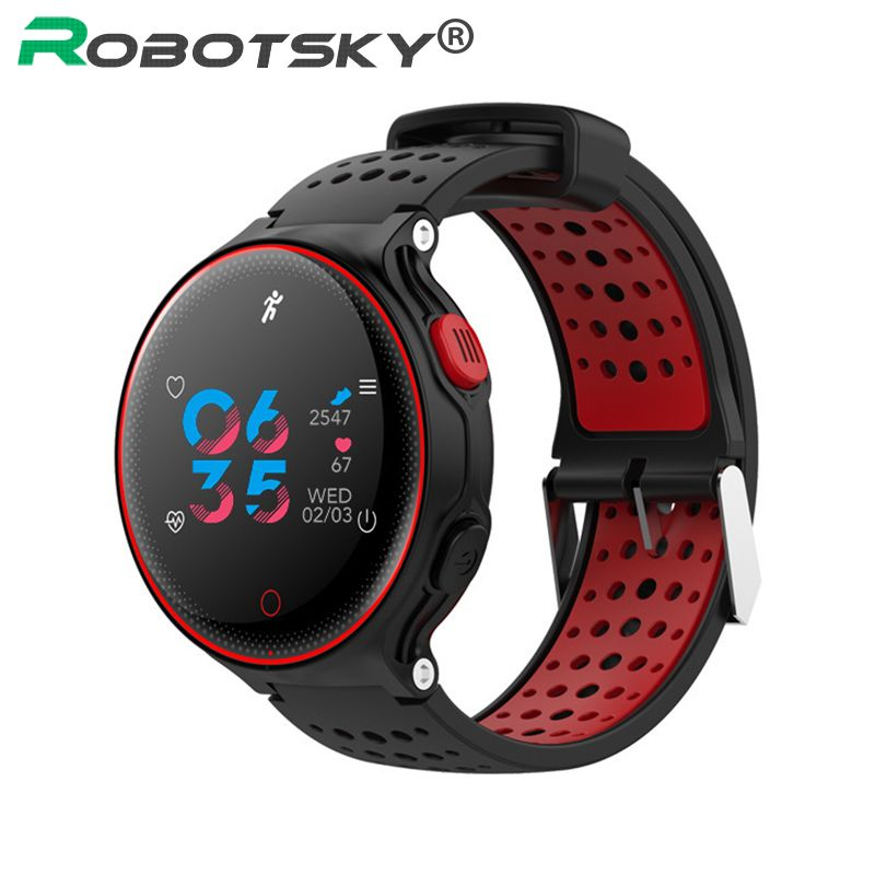 Smartwatch Heart Rate Tracker Pedometer Blood pressure Oxygen BT Camera IP68 Waterproof For IOS Android Phone Smart Watch