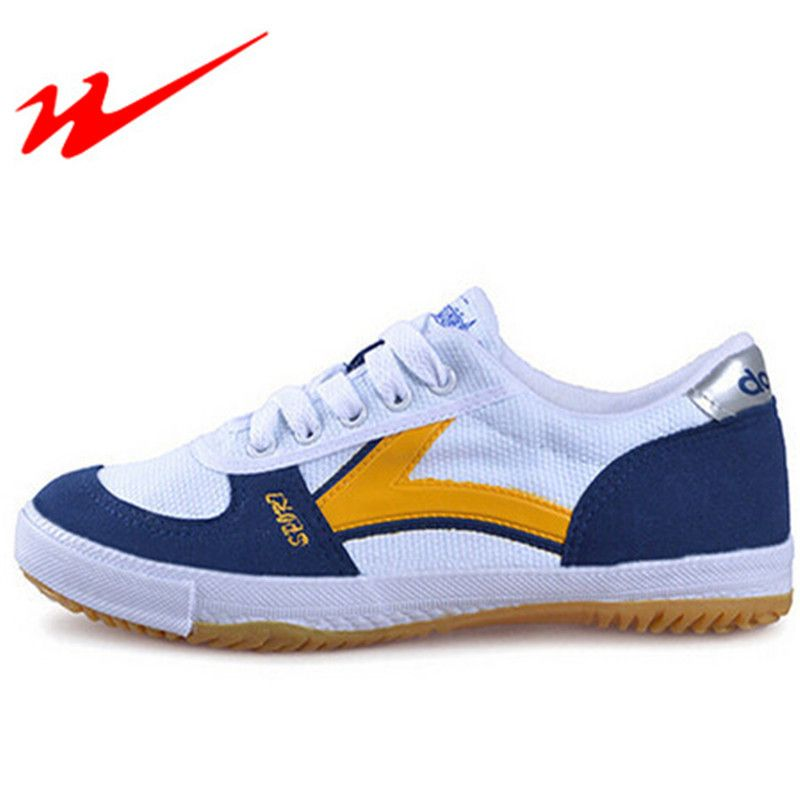 DOUBLESTAR MR Mens Table Tennis Shoes Women Canvas Lace-Up Sport Training Shoes Sneaker Lightweight Outdoor scarpe uomo sportive
