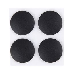 4pcs/lot Bottom Case Rubber Foot Pad Stand Notebook Laptop Replacement Feet Base For Macbook Pro Retina A1398 A1425 A1502 Black