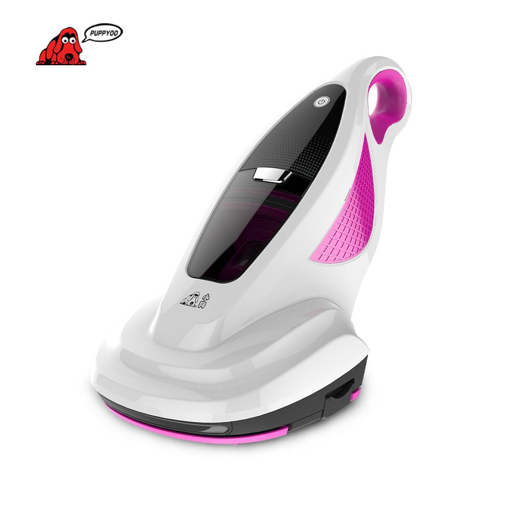 PUPPYOO Vacuum Cleaner Home Bed Mites <font><b>Collector</b></font> UV Acarus Killing Vacuum Cleaner for Home Mattress Mites-Killing WP602A