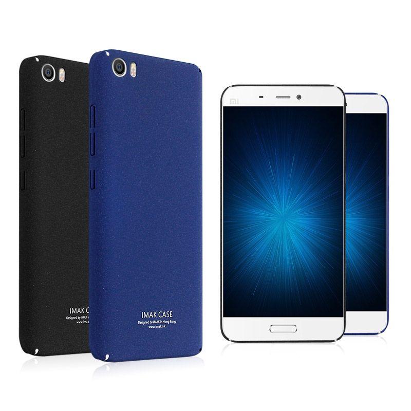 Imak Cas Pour Xiaomi mi5 Hight Qualité Retour Couverture Rigide Pour Xiaomi Redmi 4X Note 5 Pro Pour Redmi 5 mat Téléphone Cas Shell Sac