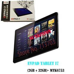 2018 New Arrival Smart TV Box EVPAD Tablet i7 2GB 32GB: 2.4GHz/5GHz Dual WiFi Support Dual SIM Cards Asia's TV Live Channels