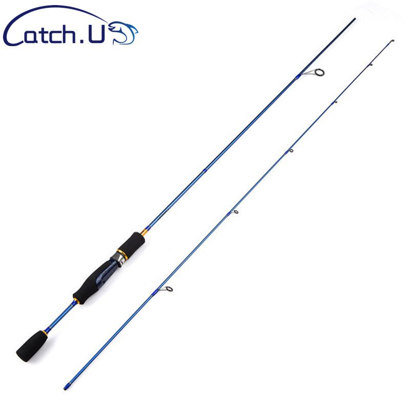 Cheap UL Spinning Rod 1.5-5g Lure Weight 3-7lb Line Ultralight Carbon Lure Fishing Rod