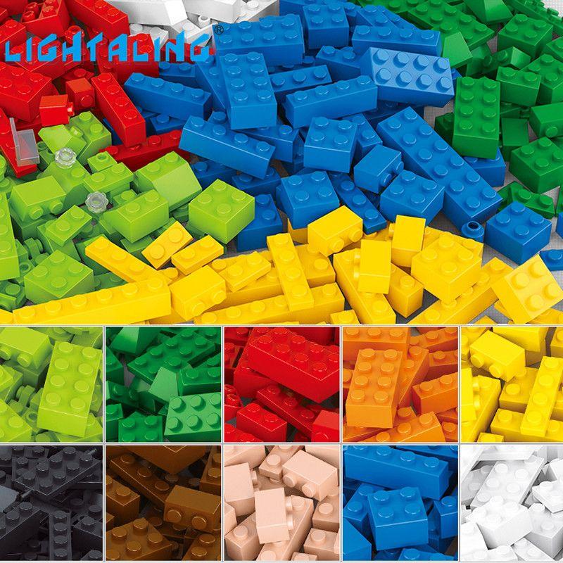 Alléger les blocs de construction 415 pièces bricolage briques créatives modèle Compatible avec les jouets pour enfants éclairer les jouets