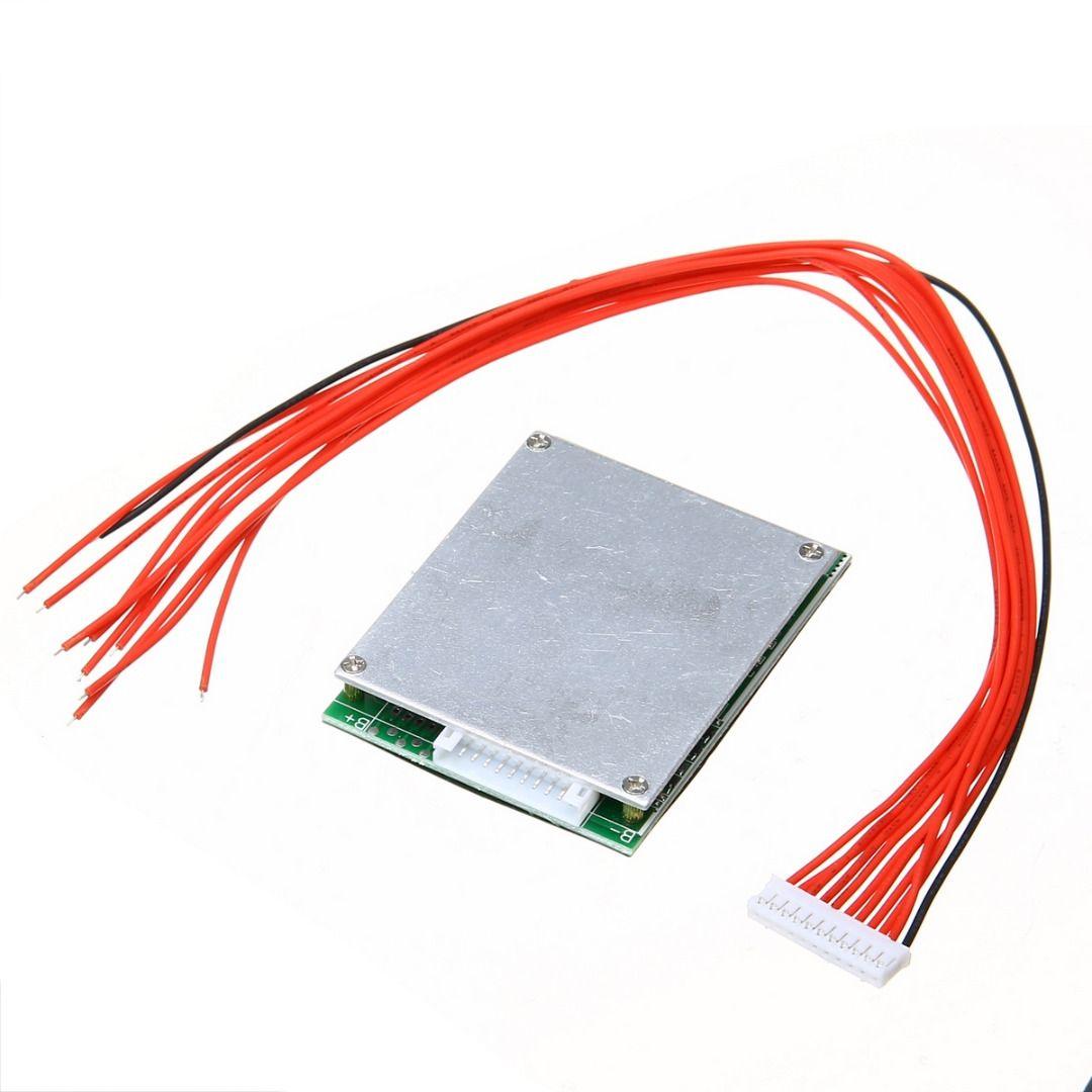 Nouveauté 1 pc 10 S 36 V 35A Li-ion lipolymère batterie BMS PCB avec Balance prend en charge Ebike Escooter Mayitr