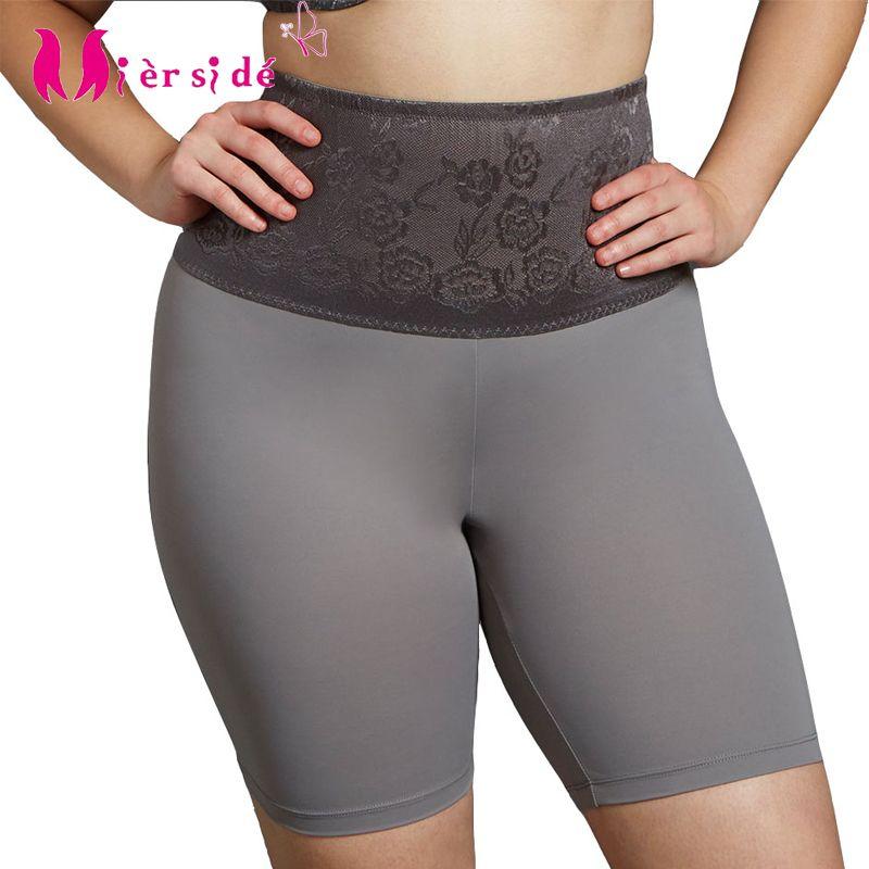 Mierside 6214788 3 Color Women Large Briefs Big Size Pants High-Rise Floral High Quality M/L/XL/2XL/3XL/4XL/5XL/6XL