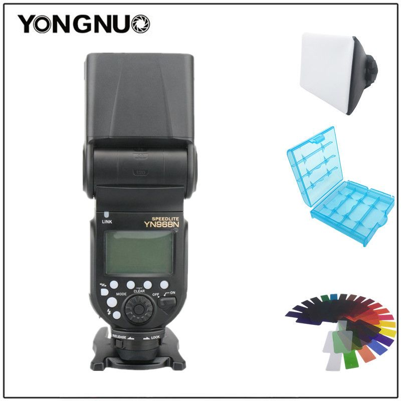 YONGNUO YN968N YN968EX-RT TTL Wireless Camera Flash Speedlite Master For Nikon D5600 D7100 For Canon 650D 100D 1100D 580EX II