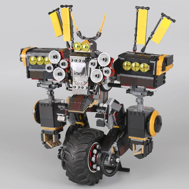 IN STOCK LEPIN 06069 1346 Pcs Cole's Quake Mech Ninjago Series Jay Kai A Gang's Unicycle Building Blocks Toys LegoYB 70632