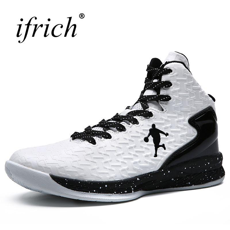 Men Women Sport Sneakers Basketball Boots Red White Men Sport Trainers High Top Girls Basketball Shoes Cheap