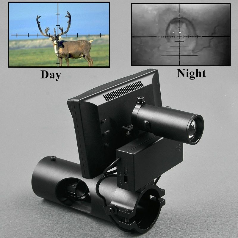 Night Vision Riflescope Hunting Day and Night Riflescope Hunting Quick Disassembly Digital Night Vision Scope Outdoor Optics