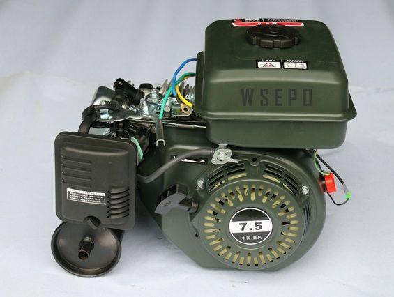 Factory Direct Supply! WSE-5KW Gasoline DC Battery Charging Generator System (48V/60V/72V Optional) for E-Bike/E-Tricycle/E-Car