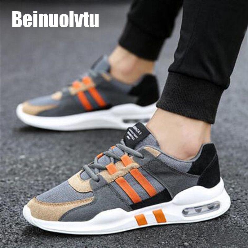 Популярные мужские кроссовки 9908 Air Подушки Бег обувь для мужчин дышащая парусиновая спортивная обувь холст Спортивная обувь Легкие кроссов...