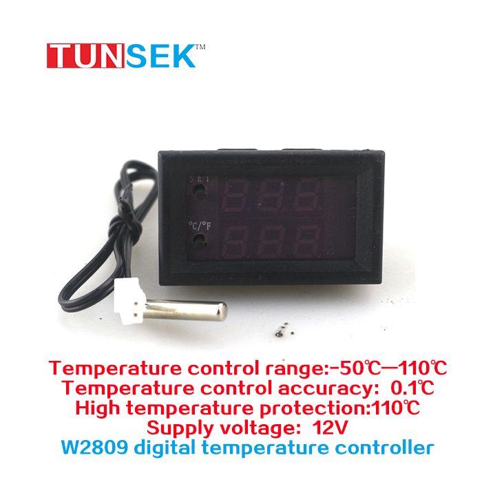 Mini Microcomputer Thermostat Regulator DC 12V 20A Digital Adjustable Temperature Controller -50-110C