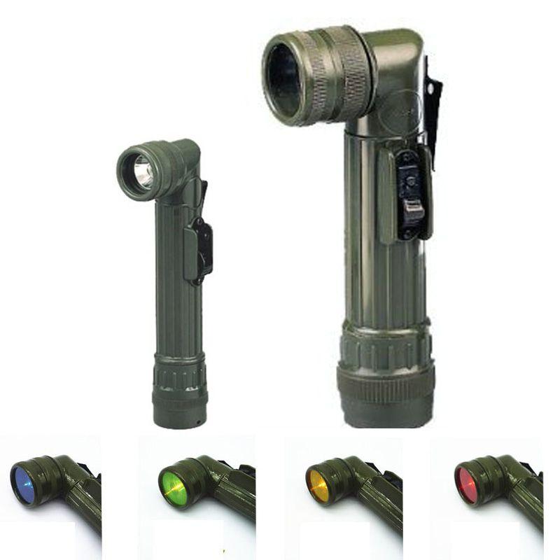 Militaire Tactique Lampe de Poche Focus Portable Led Torche Flash light Lamp Auto Défense Police Lampe Torche Projecteur pour le Camping