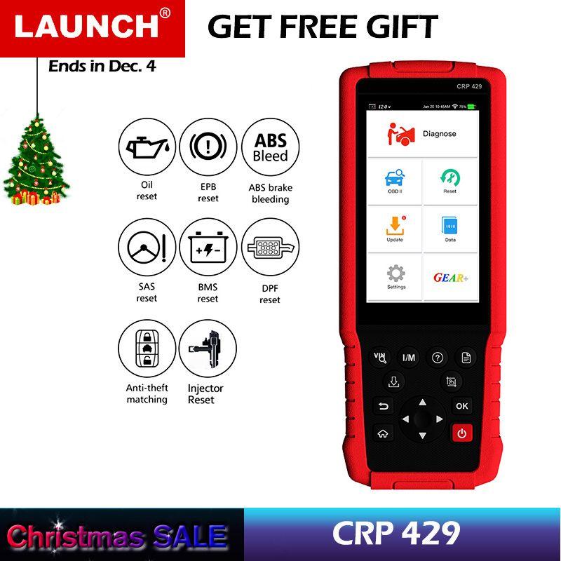 STARTEN CRP429 OBD2 Diagnosescan-werkzeug Alle System Diagnosen Service Funktionen von Öl Reset, EPB, BMS, SAS, DPF, Injektor Codierung, IMMO