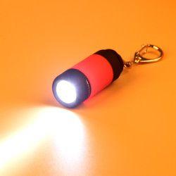 Mini Torch Senter 0.3 W 25Lum USB Rechargeable LED Obor Lampu Outdoor Camping Pencahayaan 2018 LED Lampu Obor