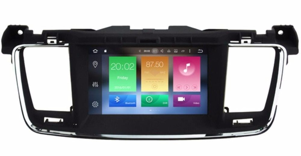 Updated 4GB RAM 32GB ROM ! Octa-Core Android 8.0 Car DVD GPS for Peugeot 508 Citroen DS5 with Radio BT Mirror link WiFi 3G DVR