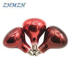 220 V E27 Inframerah Fisioterapi Explosion-Proof Lampu Pemanas Bohlam Rambut Perm Lampu 150 W 250 W 275 W pemanasan Panggang Cahaya