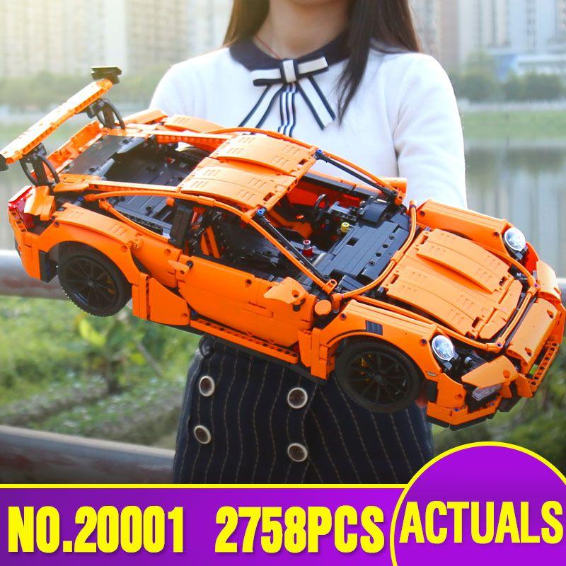 Lepin 20001 20086 23002 23006 technic series Legoinglys 3368 race car bricks 42056 model building blocks toy birthday gift 42083