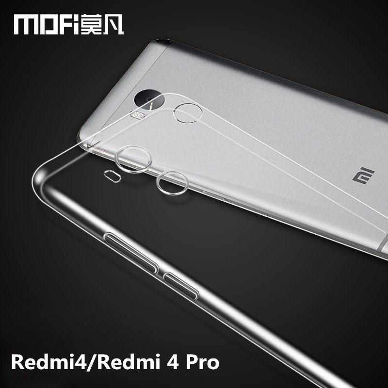 Redmi 4 Pro case Xiaomi Redmi 4 Pro Prime case silicon MOFi Redmi4 case TPU soft back cover Redmi 4 Pro case 5.0 phone funda