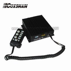 (CJB-100Z) 100 W Mobil Elektronik Sirene Polisi 7 Suara dengan Mikrofon 2 Lampu, amplifier Mobil (Sirene Hanya Tanpa Speaker)