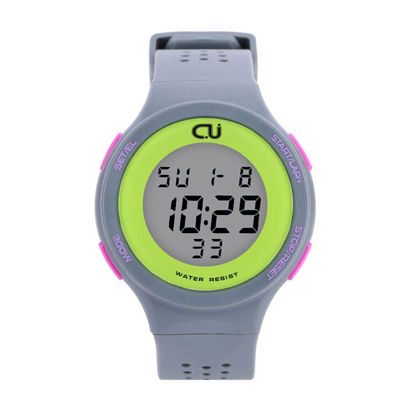 Новинка 2017 года бренд cu Для мужчин Спортивные часы Военная Униформа часы Для женщин Повседневное светодиодный цифровой Многофункциональны...