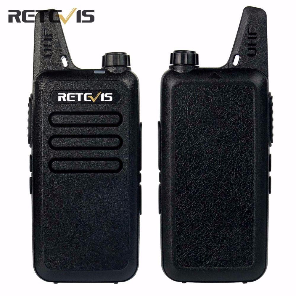 2pcs Dustproof Retevis RT22 Walkie Talkie Transceiver 2W 16CH UHF400-480MHz CTCSS/DCS VOX Scan Squelch Portable Amateur Radio RU